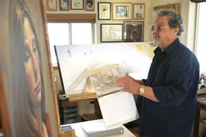 Eddie Martinez grew up in Los Angeles in the 1930s and '40s, and later found his dream job working for Walt Disney. Martinez now lives outside Bayfield. Photo courtesy of Josh Stephenson, Durango Herald.